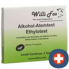 Willi fox breathalyzer 10 pcs