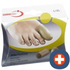 Omnimed ortho pedicone toecap l / xl 2 pcs
