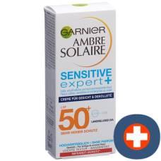 Ambre solaire face cream sensitive expert + sf50 + 50 ml