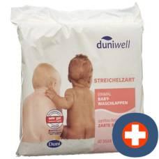 Duniwell baby washcloth 40 pcs