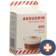 Assugrin the original tablet refill 600 pcs