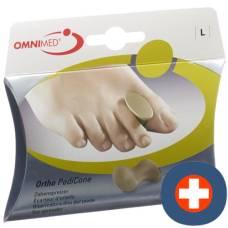Omnimed ortho pedicone toe spreader l 2 pcs