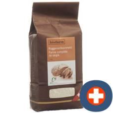 Biofarm rye wholemeal flour bud btl 1 kg