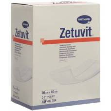 Zetuvit absorption Association 20x40cm sterile 5 pcs
