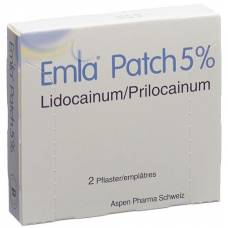 Emla patch pfl 2 pcs