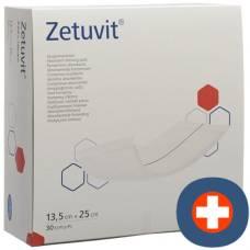 Zetuvit absorption Association 13.5x25cm 30 pcs
