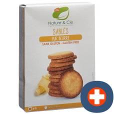 Nature & cie butter cookies gluten free 135 g