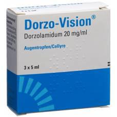 Dorzo vision gd opht 2% 3 fl 5 ml