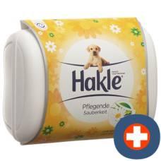 Hakle wet chamomile and aloe box 42 pc