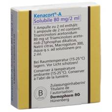 A kenacort solubile inj lös 80 mg / 2ml amp 5 pcs