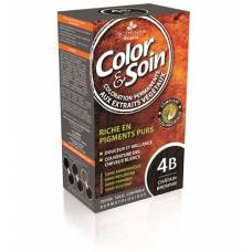 Color & soin coloration 4b brownie chesnut 135 ml