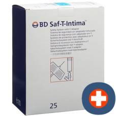 Bd saf-t-intima 22g 0.9x19mm blue 25 pcs