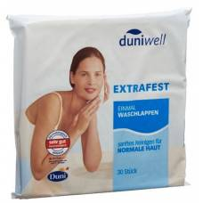 Duniwell once washcloth 30 pcs
