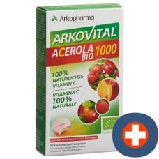 Arkovital acerola arkopharma tablets 1000 mg bio 30 pcs
