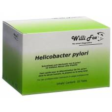 Willi fox helicobacter pylori blood test 20 pieces