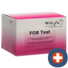 Willi fox fob test (occult hemoglobin in stool) 5 pcs