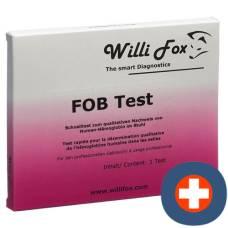 Willi fox fob test (occult hemoglobin in stool) 25 pcs