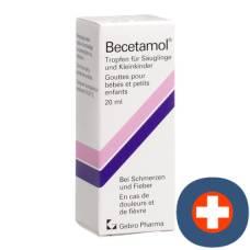 Becetamol drop of 100 mg / ml fl 20 ml