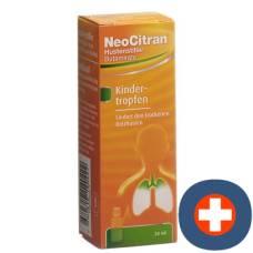 Neocitran cough suppressant drops 5mg / ml 20ml child tropffl