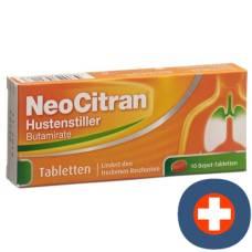 Neocitran cough suppressants depottabl 50 mg 10 pcs
