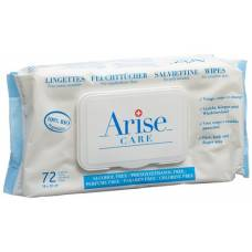 Arise swiss baby care wipes body & face 72 pcs
