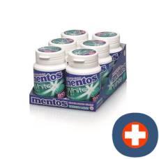 Mentos gum white breeze 6 x 75 g