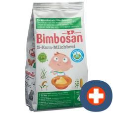 Bimbosan organic 3-grain porridge battalion 280 g