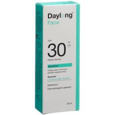 Daylong sensitive face gel fluid spf30 30 ml