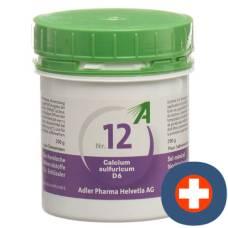 Adler schüssler nr12 calcium sulphate tbl d 6250 g