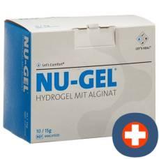 Nu Gel hydrogel with alginate 10 x 15 g