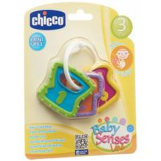 Chicco easy grip rattle key 3m +