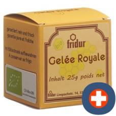 Fridur organic royal jelly-jar 25 g