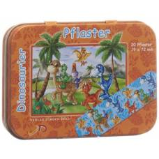 Döll adhesive plasters 19x72mm dinosaurs ds 20 pcs