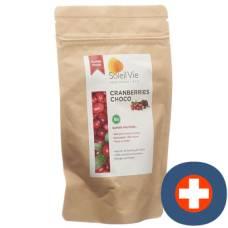 Soleil vie cranberries choco bio 110 g