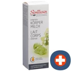 Similasan natural cosmetics intensive body milk disp 200 ml