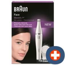 Brown facial hair removal face 810
