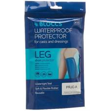 Bloccs bath and shower water protection for the leg 29-49 + / 66cm adults