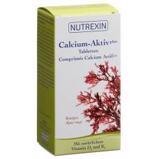 Nutrexin calcium-activated plus tbl ds 120 pcs