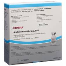 Humira inj lös 40 mg / 0.8ml vial 2 pcs