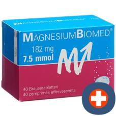 Magnesium biomed brausetabl 40 pcs