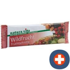 Natura vita fruchtschnitte wildfrucht 50 g