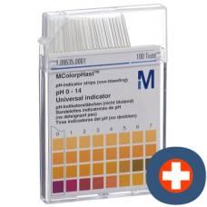 Merck indicator strips ph 0-14 100 pcs