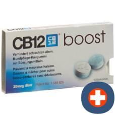Cb12 boost oral care gum strong mint 10 pcs