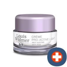 Louis widmer crème soin pro act light non parfumé 50 ml