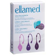 Ellamed vaginal 3 forms / 3 3 unit weights