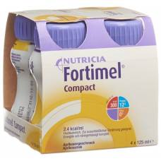 Fortimel compact apricot 4 fl 125 ml