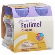 Fortimel compact banana 4 fl 125 ml