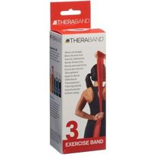 Theraband medium 2.5mx12.7cm red strong