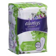 Always discreet incontinence small 20 pcs