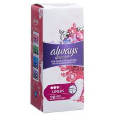 Always discreet incontinence liner 28 pieces